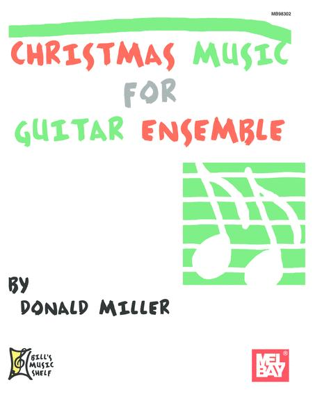 Christmas Music for Guitar Ensemble