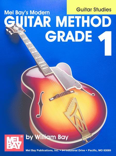 Modern Guitar Method Grade 1: Guitar Studies