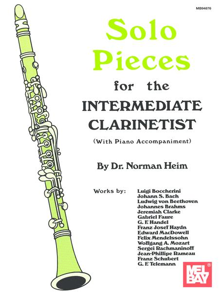 Solo Pieces for the Intermediate Clarinetist
