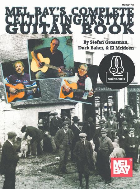 COMPLETE CELTIC FINGERSTYLE GUITAR BOOK BOOK /& CD