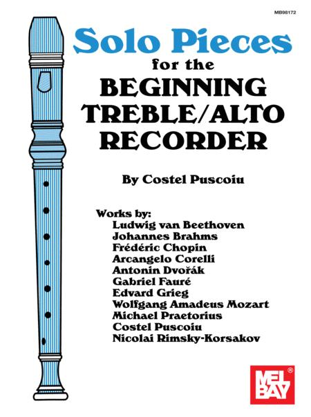 Solo Pieces for the Beginning Treble/Alto Recorder