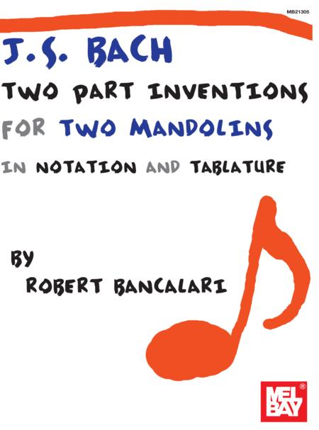 J.S. Bach: Two Part Inventions for Two Mandolins