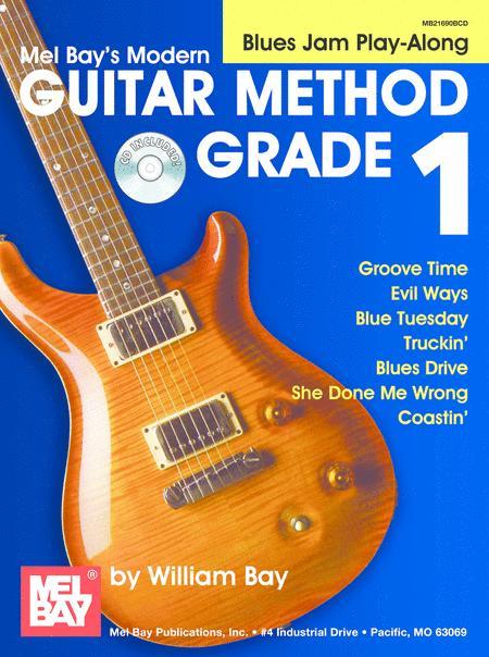 Modern Guitar Method Grade 1: Blues Jam Play-Along