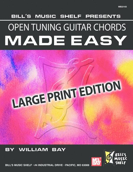 Open Tuning Guitar Chords Made Easy,