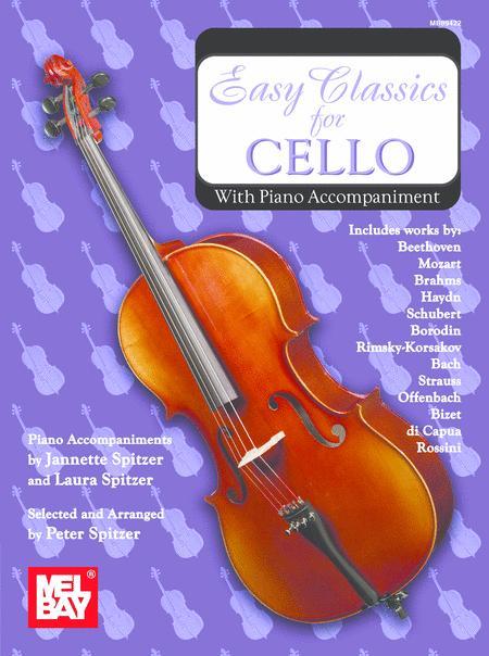 Easy Classics for Cello