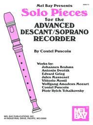 Solo Pieces for the Advanced Descant/Soprano Recorder