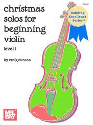 Christmas Solos for Beginning Violin
