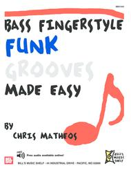 Bass Fingerstyle Funk Grooves Made Easy