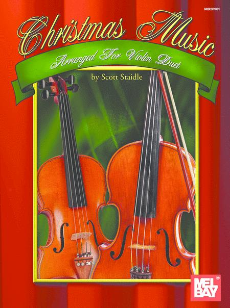 Christmas Music Arranged for Violin Duet
