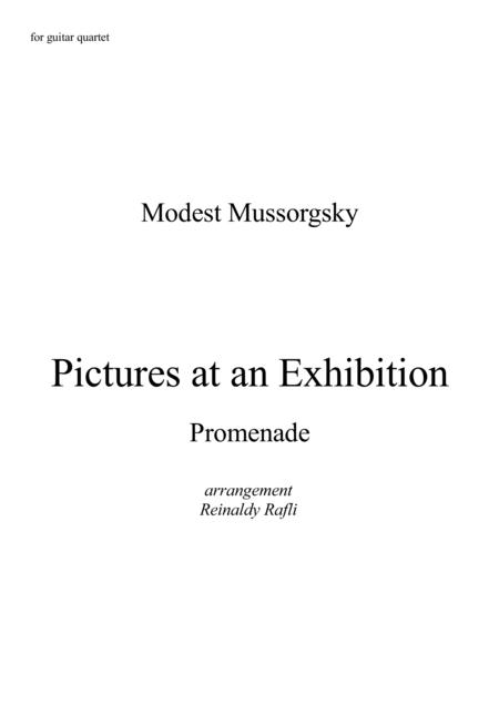 Pictures at an Exhibition - Promenade 1