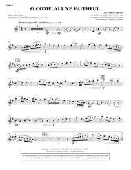 O Come, All Ye Faithful (from Carols For Choir And Congregation) - Violin 1