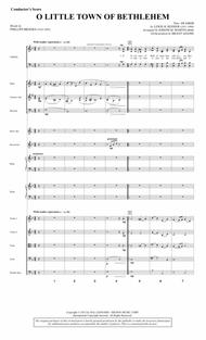 O Little Town Of Bethlehem (from Carols For Choir And Congregation) - Score