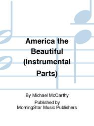America the Beautiful (Instrumental Parts)
