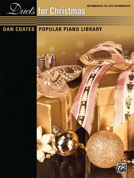 Dan Coates Popular Piano Library -- Duets for Christmas
