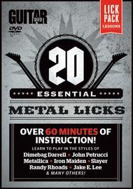 Guitar World -- 20 Essential Metal Licks