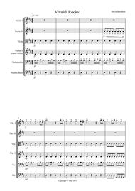 Vivaldi Rocks! for String Orchestra