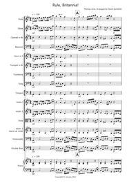 Rule, Britannia! for School Orchestra
