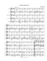 Dvorak Slavonic Dance #7 for woodwind quintet