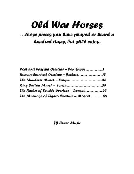 Old War Horses book for flute and clarinet duet