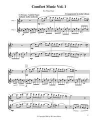 Comfort Music for Flute Duet