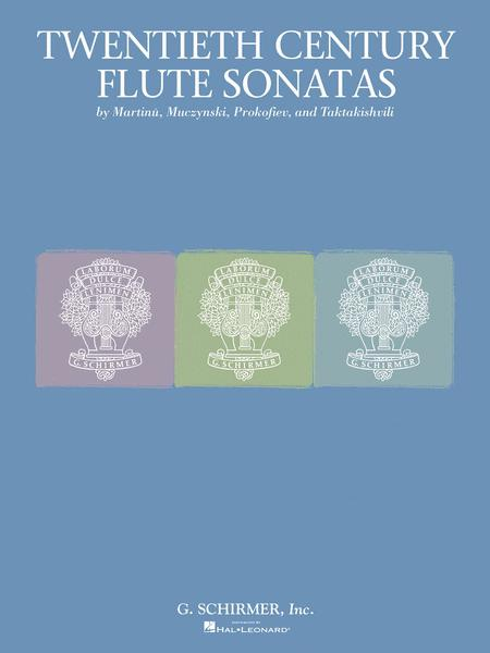 Twentieth Century Flute Sonata Collection