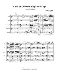 Chicken Chowder Rag by Irene Giblin for Woodwind Quintet