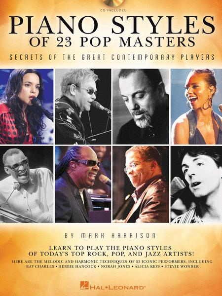 Piano Styles of 23 Pop Masters