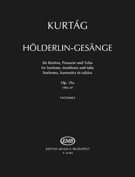 Holderlin-Gesange, Op. 35a