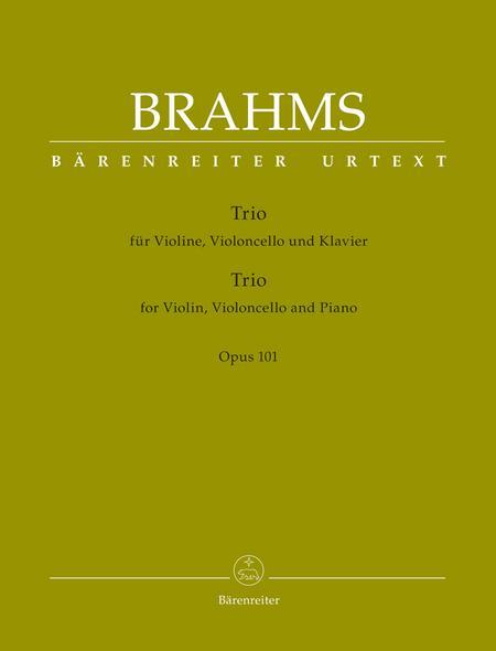 Trio for Violin, Violoncello and Piano op. 101