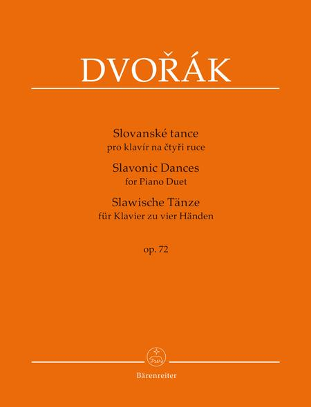 Slavonic Dances for Piano Duet op. 72