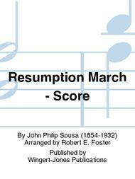 Resumption March - Score