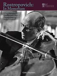 Rostropovich: In Memorium
