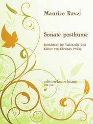 Sonata posthume pour Violoncelle et PIano