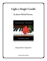 Light a Single Candle