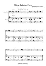 8 Easy Christmas Pieces for Double Bass And Piano