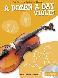 A Dozen a Day - Violin