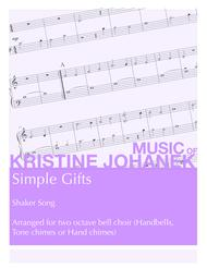 Simple Gifts (2 Octave Handbell, Hand Chimes or Tone Chimes)