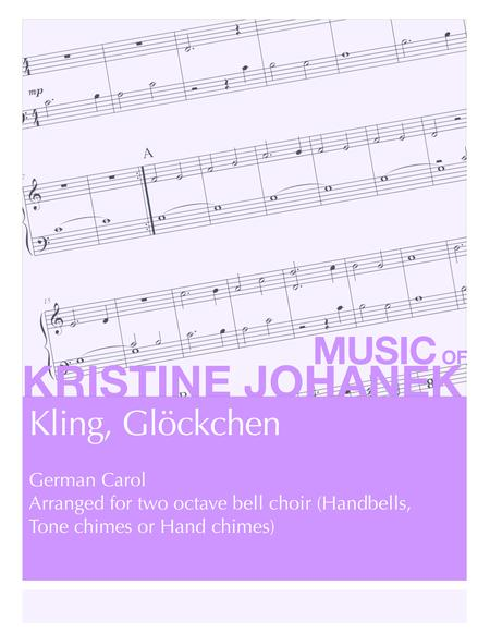 Kling, Glockchen (2 octave handbells, tonce chimes or hand chimes)