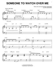 Someone To Watch Over Me [Jazz version] (arr. Brent Edstrom)