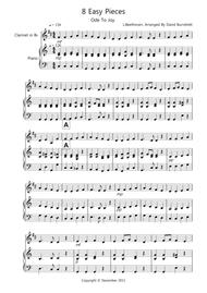 8 Pieces for Clarinet And Piano