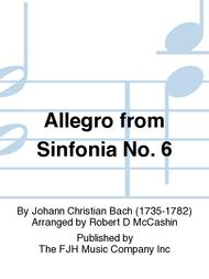 Allegro from Sinfonia No. 6