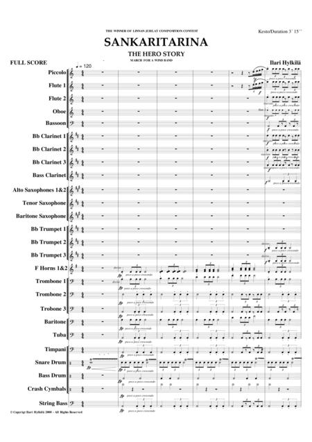 THE HERO STORY (for Concert Band/Marching Band)