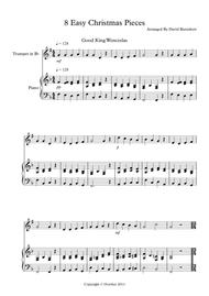 8 Christmas Pieces for Trumpet And Piano