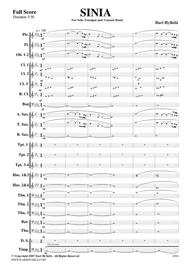 SINIA for concert band and solo trumpet