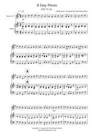 8 Pieces for French Horn And Piano