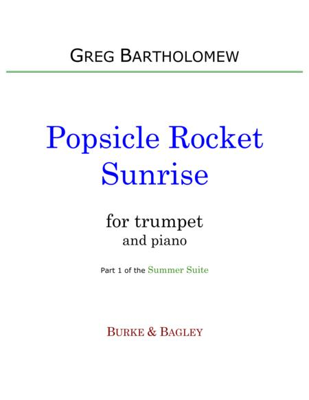 Popsicle Rocket Sunrise (trumpet & piano)