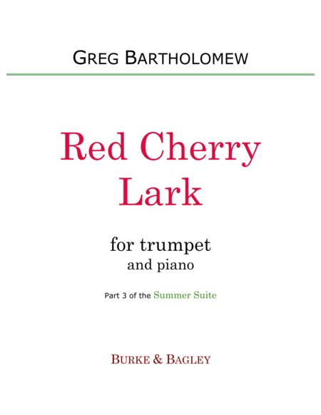 Red Cherry Lark (trumpet & piano)
