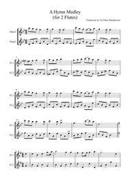 A Hymn Medley for Flute Duet
