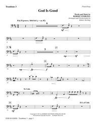 God Is Good - Trombone 3
