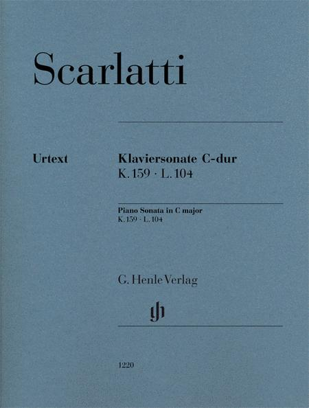 Piano Sonata in C Major K. 159, L. 104